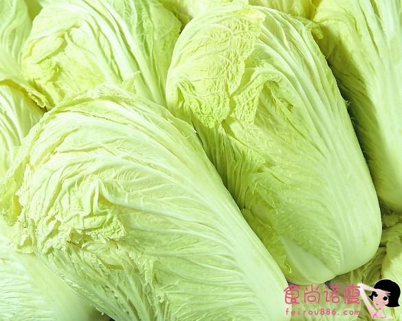 大白菜既养颜又护肤