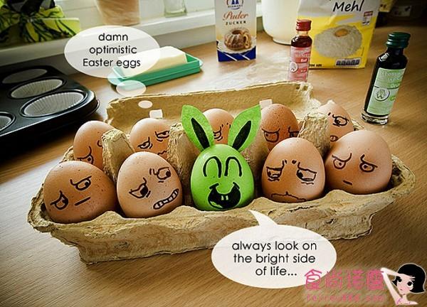 鸡蛋们也是有喜怒哀乐滴