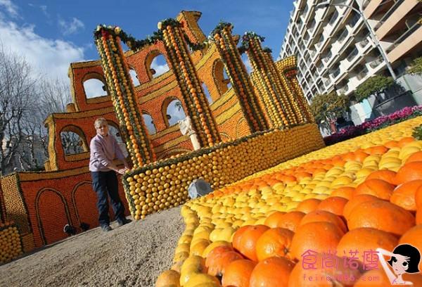 法国芒顿柠檬节 (一)