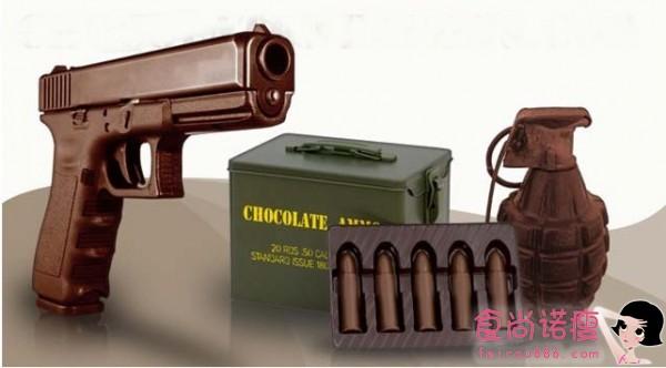 巧克力打造的甜蜜武器
