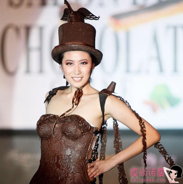 巧克力变身绚丽霓裳