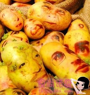 这样的人脸土豆,你敢吃吗?