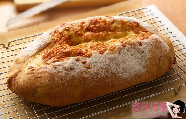 家庭自制法式咸面包