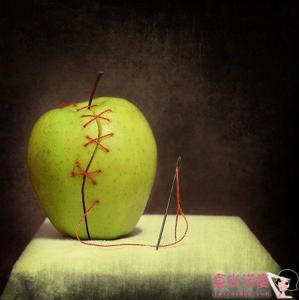 被艺术动过手术的水果