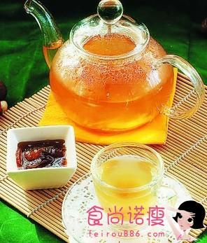 自制柚子姜汁和胃止呕助解酒