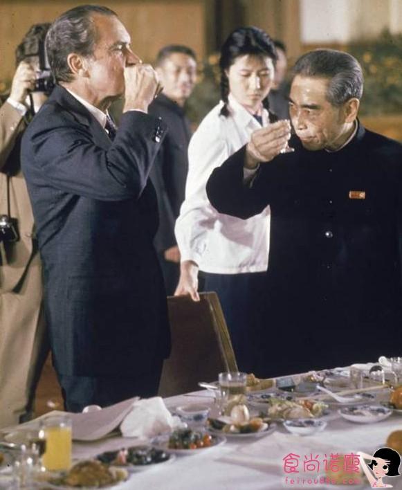 1972年周总理宴请尼克松吃了什么